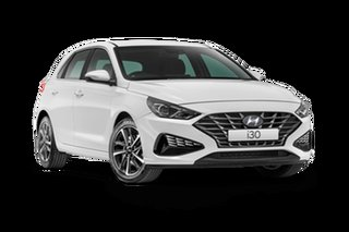 2021 Hyundai i30 PD.V4 Elite Polar White 6 Speed Automatic Hatchback