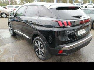 2018 Peugeot 3008 P84 MY18.5 Allure Perla Nera Black 6 Speed Automatic Wagon