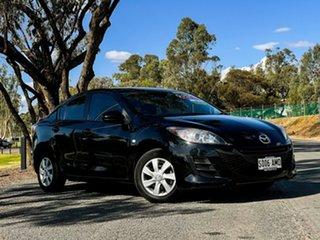 2010 Mazda 3 BL Neo Black 5 Speed Automatic Sedan.