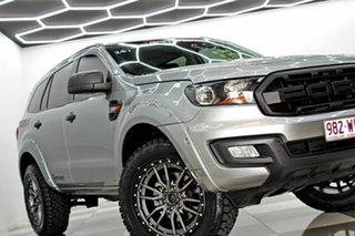 2015 Ford Everest UA Ambiente Silver 6 Speed Automatic SUV.