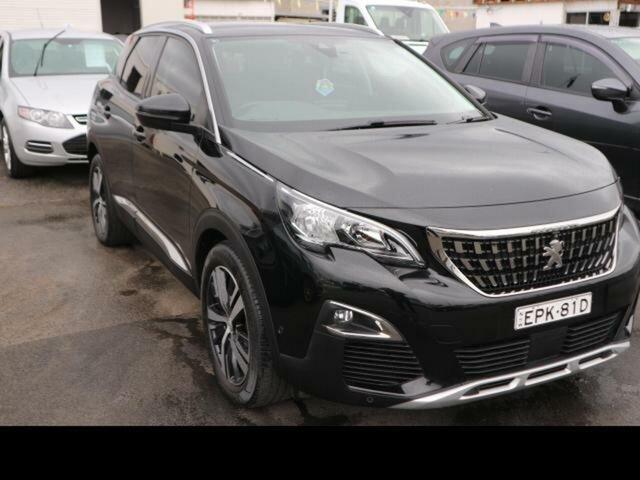 Used Peugeot 3008 P84 MY18.5 Allure Kingswood, 2018 Peugeot 3008 P84 MY18.5 Allure Perla Nera Black 6 Speed Automatic Wagon
