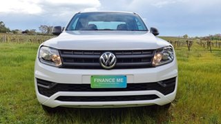 2017 Volkswagen Amarok 2H MY18 TDI420 4MOTION Perm Core Candy White 8 Speed Automatic Utility.