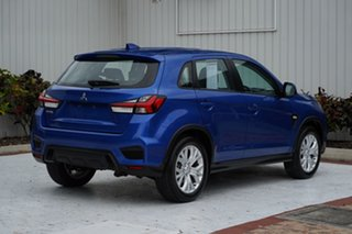 2020 Mitsubishi ASX XD MY20 ES 2WD Blue 1 Speed Constant Variable Wagon