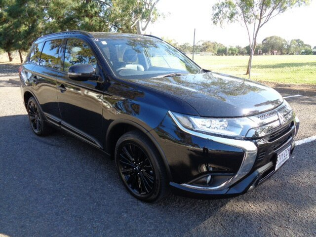 Used Mitsubishi Outlander ZL MY19 Black Edition 2WD Elizabeth, 2019 Mitsubishi Outlander ZL MY19 Black Edition 2WD Black 6 Speed Constant Variable Wagon
