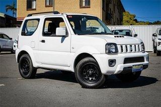 2015 Suzuki Jimny SN413 T6 Sierra White 4 Speed Automatic Hardtop.