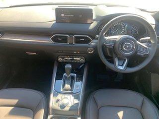 2021 Mazda CX-5 KF4WLA Akera SKYACTIV-Drive i-ACTIV AWD Machine Grey 6 Speed Sports Automatic Wagon