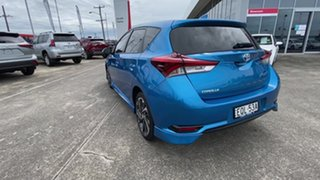 2018 Toyota Corolla ZRE182R SX S-CVT Blue 7 Speed Constant Variable Hatchback.