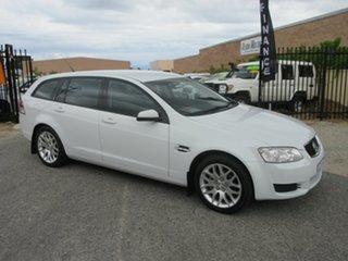 2010 Holden Commodore VE MY10 International White 6 Speed Automatic Sportswagon.