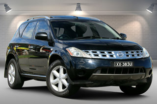 2008 Nissan Murano Z50 TI Black 6 Speed Constant Variable Wagon.
