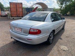 2002 Holden Commodore VX Silver 4 Speed Auto Active Select Sedan