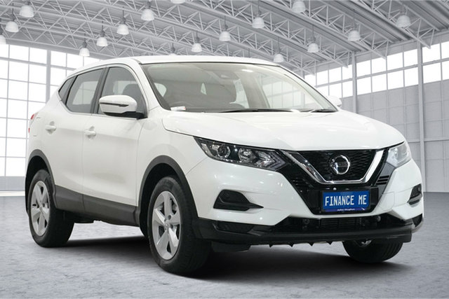 Used Nissan Qashqai J11 Series 2 ST X-tronic Victoria Park, 2018 Nissan Qashqai J11 Series 2 ST X-tronic Ivory Pearl 1 Speed Constant Variable Wagon