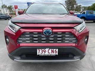2020 Toyota RAV4 Axah52R Cruiser 2WD Red 6 Speed Constant Variable Wagon Hybrid