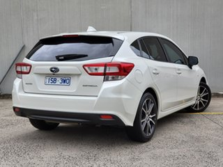 2017 Subaru Impreza G5 MY17 2.0i CVT AWD White 7 Speed Constant Variable Hatchback.