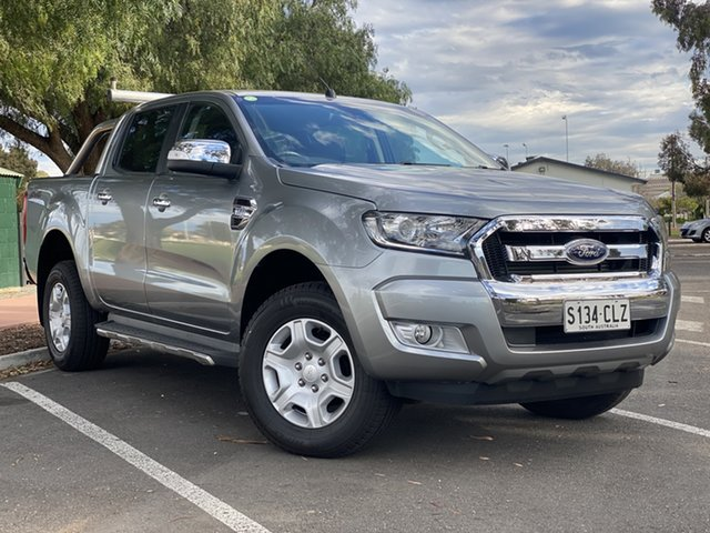 Used Ford Ranger PX MkII XLT Double Cab Nailsworth, 2015 Ford Ranger PX MkII XLT Double Cab Silver 6 Speed Sports Automatic Utility