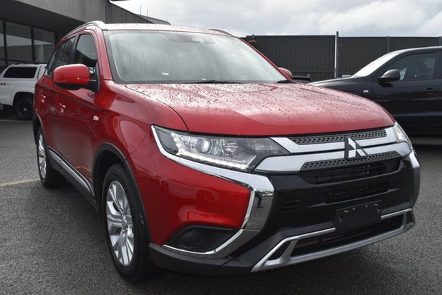 Used Mitsubishi Outlander ZL MY20 ES 2WD Wantirna South, 2019 Mitsubishi Outlander ZL MY20 ES 2WD Red Diamond 6 Speed Constant Variable Wagon