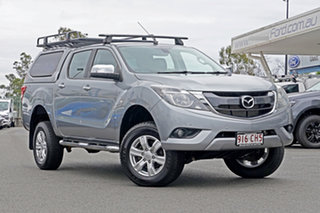 2015 Mazda BT-50 UP0YF1 XTR Silver 6 Speed Sports Automatic Utility.