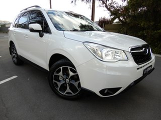 2014 Subaru Forester S4 MY14 2.5i-S Lineartronic AWD White 6 Speed Constant Variable Wagon.
