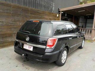 2005 Holden Astra AH MY06 CD Black 5 Speed Manual Wagon