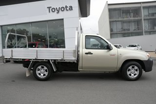 2009 Mazda BT-50 UNY0W4 DX 4x2 Bronze 5 Speed Manual Cab Chassis.