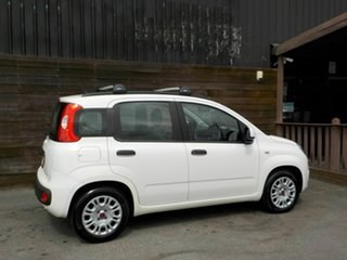 2013 Fiat Panda 150 Easy White 5 Speed Manual Hatchback.