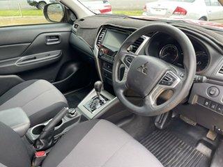 2019 Mitsubishi Triton Red Automatic Utility.