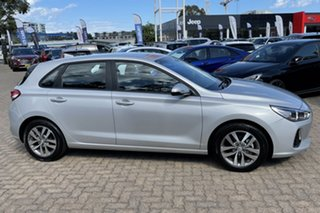 2019 Hyundai i30 PD2 MY19 Active Platinum Silver 6 Speed Automatic Hatchback.
