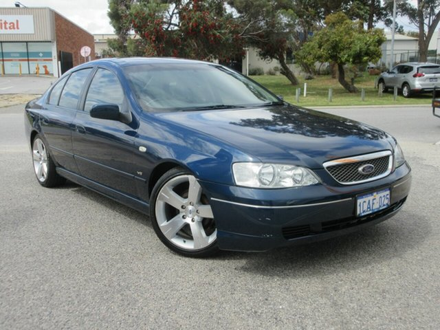 Used Ford Fairmont BA Wangara, 2003 Ford Fairmont BA Blue 4 Speed Auto Seq Sportshift Sedan