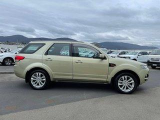 2013 Ford Territory SZ TS Seq Sport Shift Gold 6 Speed Sports Automatic Wagon.