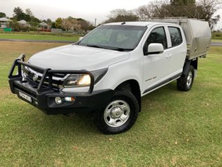2018 Holden Colorado RG MY19 LS (4x4) (5Yr) 6 Speed Manual Crew Cab Chassis.