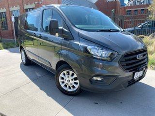 2018 Ford Transit Custom VN 2018.5MY 300S (Low Roof) Grey 6 Speed Automatic Van.