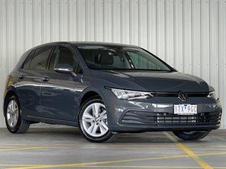 2021 Volkswagen Golf 8 MY21 110TSI Grey 8 Speed Sports Automatic Hatchback.