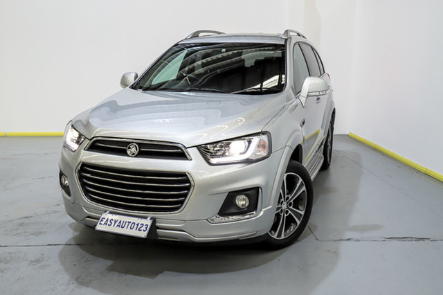 Used Holden Captiva CG MY18 LTZ AWD Canning Vale, 2018 Holden Captiva CG MY18 LTZ AWD Silver 6 Speed Sports Automatic Wagon