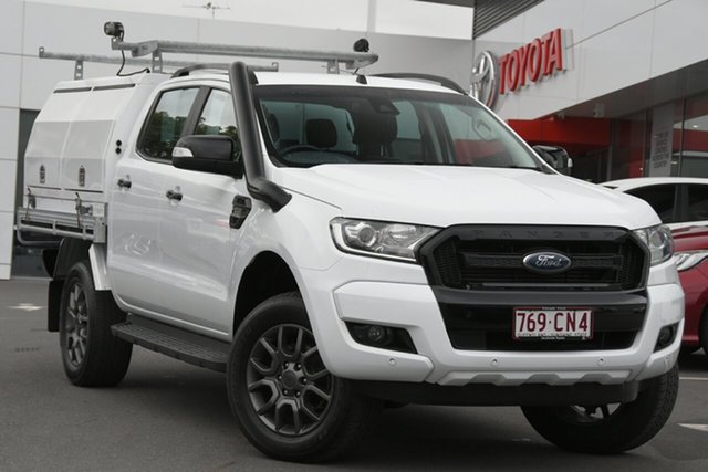Pre-Owned Ford Ranger PX MkII FX4 Double Cab Woolloongabba, 2017 Ford Ranger PX MkII FX4 Double Cab White 6 Speed Sports Automatic Utility