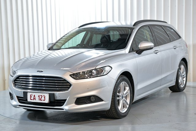 Used Ford Mondeo MD 2018.25MY Ambiente Hendra, 2018 Ford Mondeo MD 2018.25MY Ambiente Silver 6 Speed Sports Automatic Dual Clutch Wagon