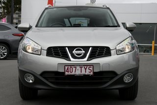 2013 Nissan Dualis J10W Series 4 MY13 Ti-L X-tronic AWD Silver 6 Speed Constant Variable Hatchback