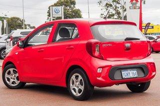 2018 Kia Picanto JA MY18 S Red 4 Speed Automatic Hatchback.