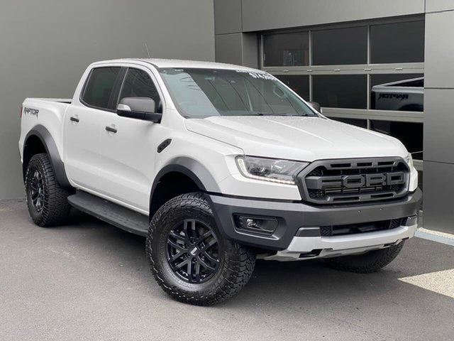 Used Ford Ranger PX MkIII 2019.00MY Raptor Hobart, 2018 Ford Ranger PX MkIII 2019.00MY Raptor White 10 Speed Sports Automatic Utility