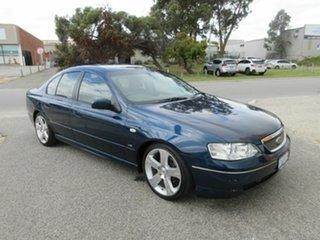 2003 Ford Fairmont BA Blue 4 Speed Auto Seq Sportshift Sedan.
