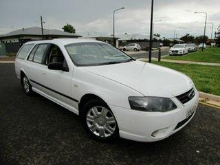 2007 Ford Falcon BF MkII Futura (LPG) White 4 Speed Auto Seq Sportshift Wagon.