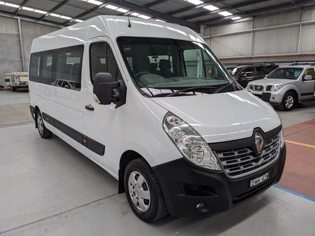 Used Renault Master X62 Mid Roof LWB AMT Maryville, 2016 Renault Master X62 Mid Roof LWB AMT White 6 Speed Sports Automatic Single Clutch Bus