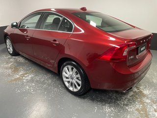 2016 Volvo S60 F Series MY17 T4 Adap Geartronic Kinetic Red 6 Speed Sports Automatic Sedan