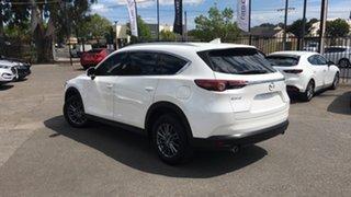 2018 Mazda CX-8 KG2W2A Sport SKYACTIV-Drive FWD White 6 Speed Sports Automatic Wagon.