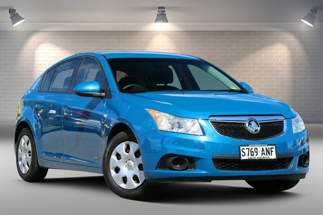 Used Holden Cruze JH Series II MY12 CD Gepps Cross, 2011 Holden Cruze JH Series II MY12 CD Blue 6 Speed Sports Automatic Hatchback