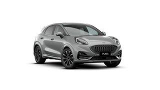 2021 Ford Puma JK 2021.25MY ST-Line V Silver 7 Speed Sports Automatic Dual Clutch Wagon