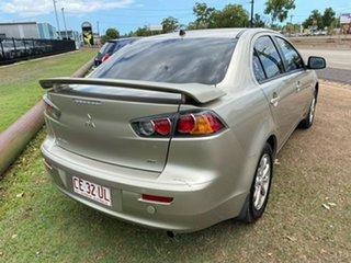 2009 Mitsubishi Lancer CJ MY10 ES Gold 6 Speed Constant Variable Sedan