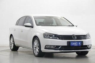 2014 Volkswagen Passat Type 3C MY14.5 130TDI DSG Highline Candy White 6 Speed