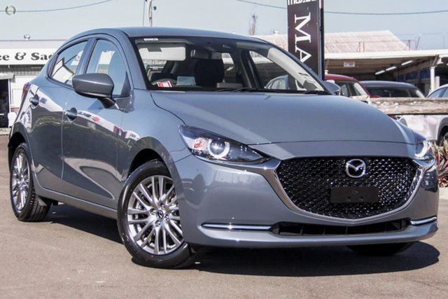 New Mazda 2 DJ2HAA G15 SKYACTIV-Drive Evolve Waitara, 2021 Mazda 2 DJ2HAA G15 SKYACTIV-Drive Evolve Grey 6 Speed Sports Automatic Hatchback