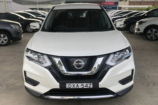 2018 Nissan X-Trail T32 Series 2 TS (4WD) White Continuous Variable Wagon.