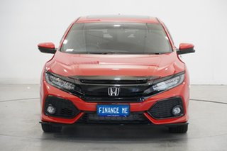 2018 Honda Civic 10th Gen MY18 RS Red 1 Speed Constant Variable Hatchback.