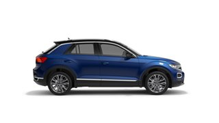 2021 Volkswagen T-ROC Style Ravenna Blue Automatic SUV